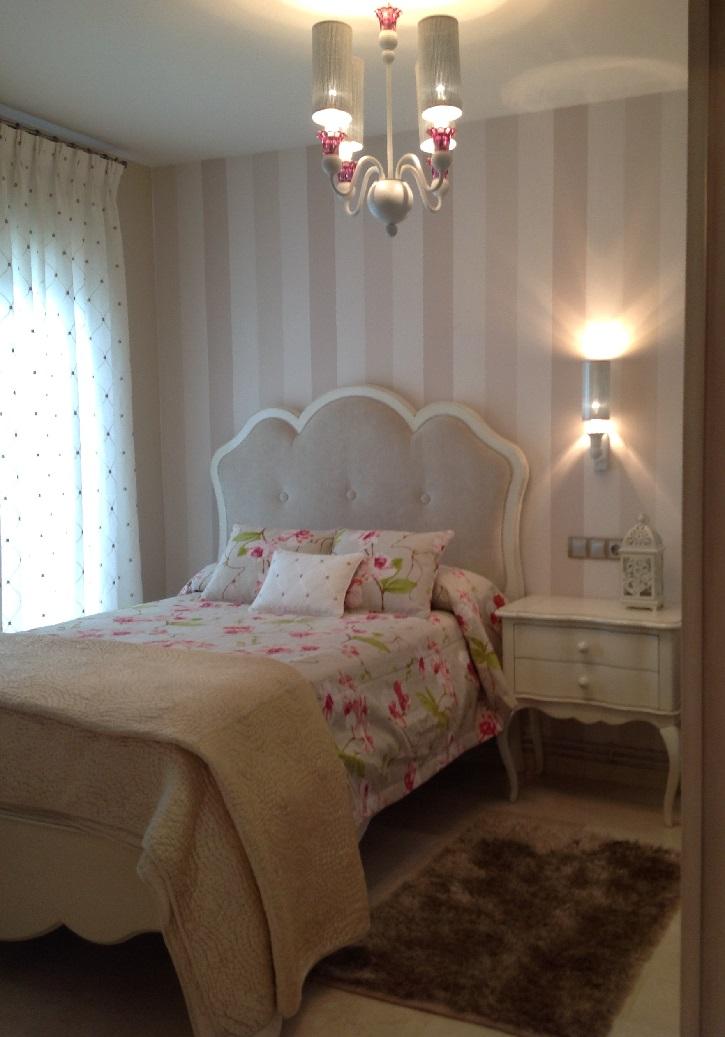 Dormitorio juvenil rom ntico en el campo de golf - Habitaciones infantiles romanticas ...